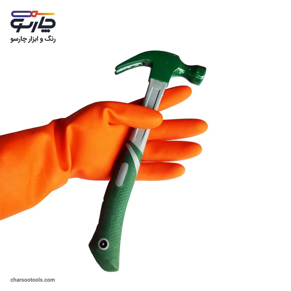 دستکش سیمان کاری ایمن کار-min