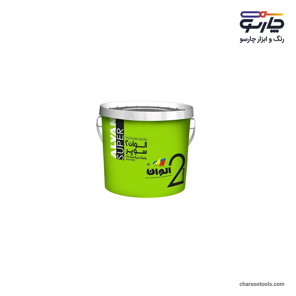 رنگ-پلاستیک-درجه2-سوپر-گالن-4کیلویی-الوان