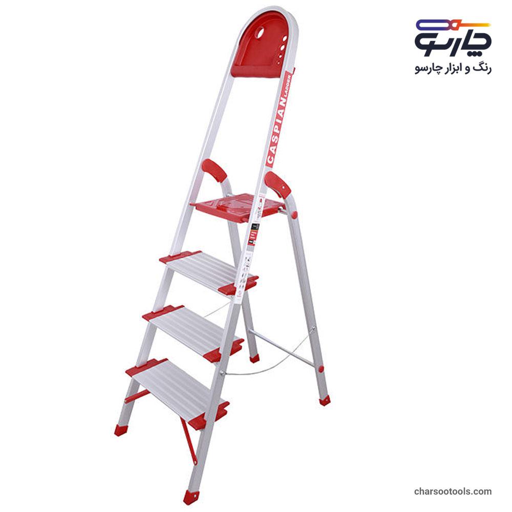 نردبان-آلومینیوم-4پله-کاسپین