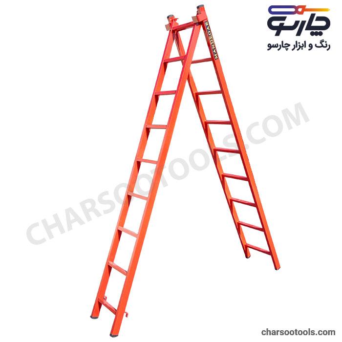 فروش نردبان 18 پله کشویی در مشهد