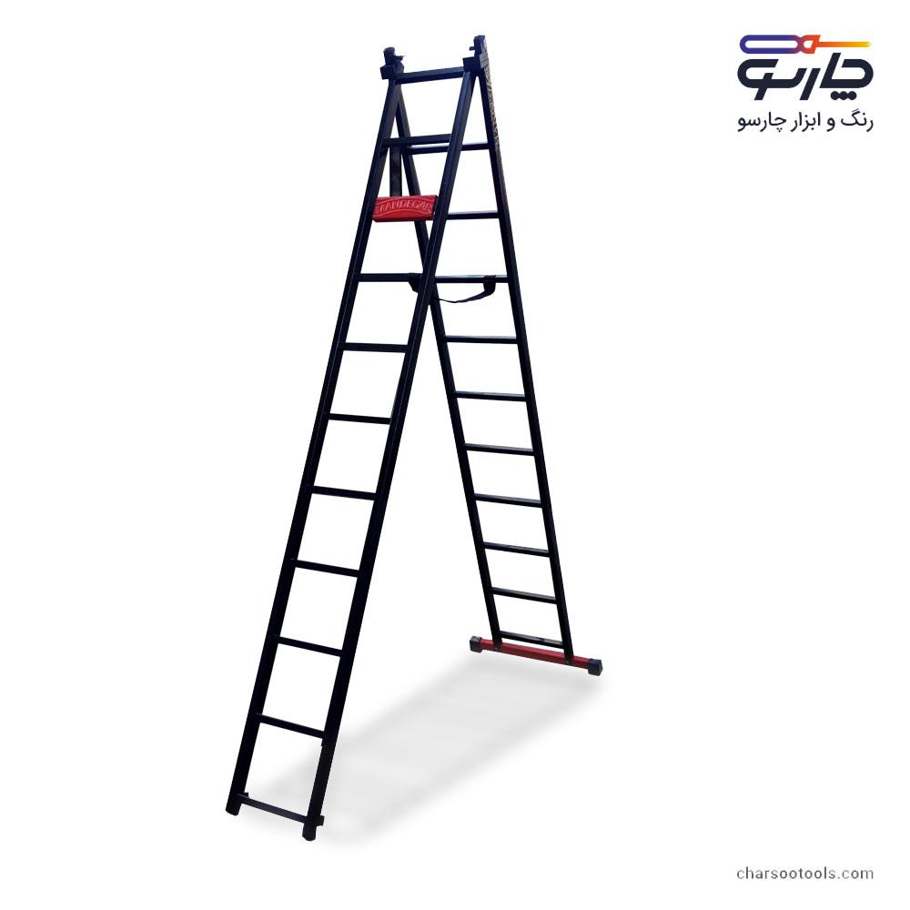 نردبان-23پله-آهنی-5.5-متری