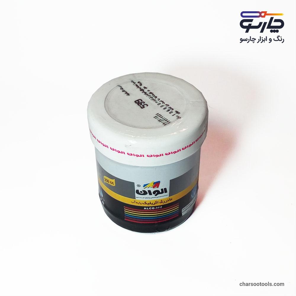 4رنگ-اکرلیک-مشکی-کد-599-الوان-250-گرمی