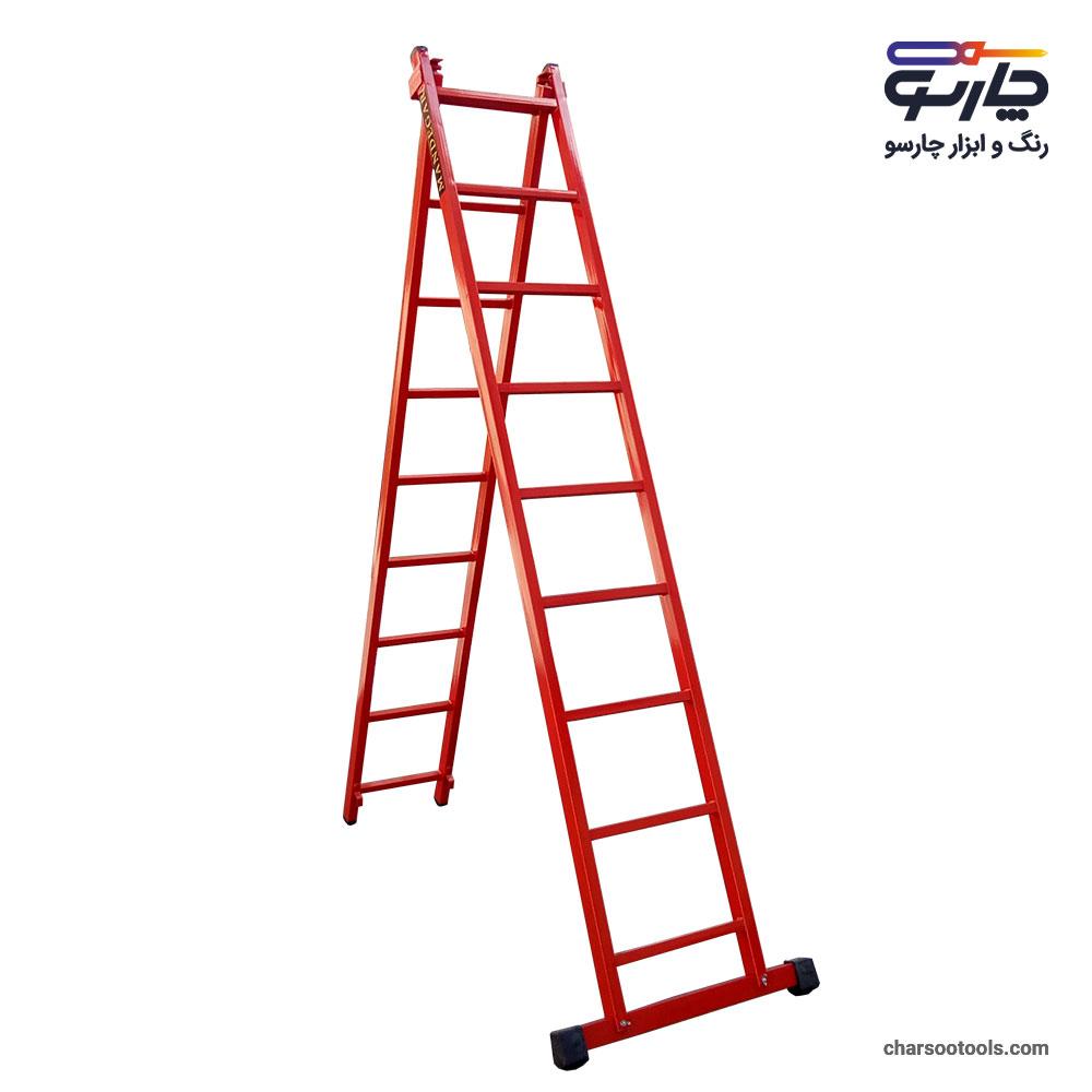 خرید نردبان 19 پله کشویی